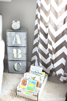 Rustic and Industrial Toddler Boys Room