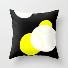 Circles Throw Pillow by Jensen Merrell Designs - $20.00
