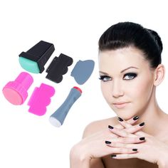 and high quality Easy and fast for DIY nail art Apply to your nails . Nail Art Diy, Diy Nails, Pink Nail Designs, Home Living, Girl Power, You Nailed It, Fingers, Singapore, How To Apply
