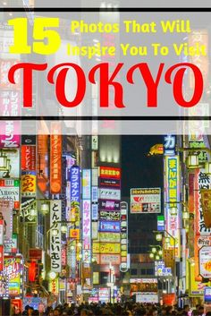 A selection of our 15 favourite photos to inspire you to visit Tokyo.