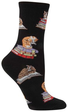 If it fits, they sits. Mostly on your homework. These paws-itively adorable kitten socks are the purr-fect addition to your fun cat loving wardrobe. Justify the purchase by claiming they will help you