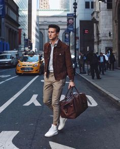 """12.9k Likes, 85 Comments - One Dapper Street (@marcelfloruss) on Instagram: """"Back on NYC streets with my new @coach duffel #1dapperst #coachpartner #CoachMens2017"""""""