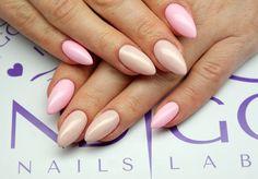 Maybe Baby Gel Brush & Pom Pom Gel Polish by Angelika Wróbel Indigo Young Team #nail #nails #pink #powder #pastel #omg #wow #soft #powder