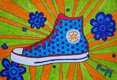 Kunstunterricht in der Grundschule, Kunstbeispiele für Klasse 5, Schuljahr 2008-2010 - 136s Webseite!