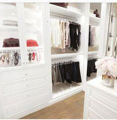 My Design Style and Inspiration – the House of Grace Dressing Room Closet, Dressing Room Design, Dressing Rooms, Walk In Closet Inspiration, Ikea Wardrobe, Wardrobe Wall, Parisian Bedroom, No Closet Solutions, Closet Storage