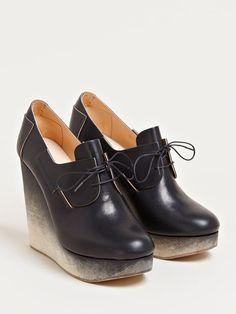 ETS Callatay Women's Derby Platform Shoes