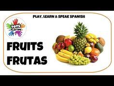 Learn Spanish - Spanish Fruit Vocabulary - YouTube Learn Spanish, How To Speak Spanish, Elementary Spanish, Vocabulary, Fruit, Learning, Youtube, Learning Spanish, Study Spanish