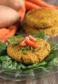 Super Healthy Veggie Burgers at www.DailyBitesBlog.com