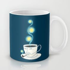 Starry starry coffee Mug