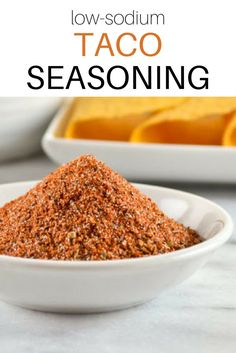 Low-Sodium Taco Seasoning // Versatile enough to spice up all your favorite Mexican dishes, this taco seasoning spice mix cuts back on the sodium without sacrificing flavor. Get the recipe at spryliving.com