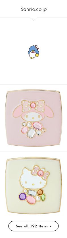 """""""Sanrio.co.jp"""" by yandereotaku ❤ liked on Polyvore featuring accessories and tech accessories"""