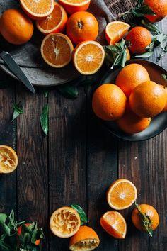 Oranges by Nataša Mandić - Orange, Juice - Stocksy United Fruit And Veg, Fruits And Veggies, Vegetables, Dark Food Photography, Beautiful Fruits, Food Backgrounds, Orange Recipes, Delicious Fruit, Raw Food Recipes