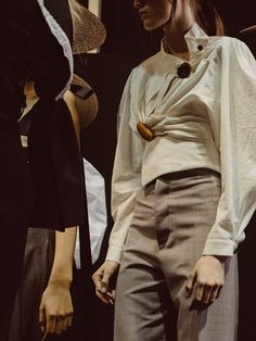 Backstage at Jacquemus SS17 PFW Dazed
