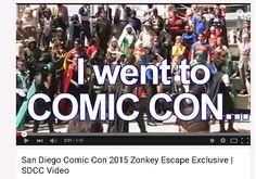 San Diego Comic Con 2015 Zonkey Escape Exclusive | SDCC Video