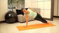 Le gainage (ou planche abdominale) est un exercice de conditionnement et d'équilibre.
