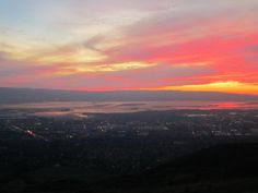 View from Mission Peak, Fremont, CA