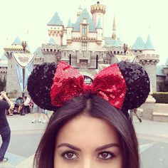 haha. i totally have these sequin mini ears from disneyworld :) #duh