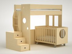 Dumbo Bunk Bed Over Twin-no crib!