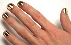 Metallic Gold Nail Polish