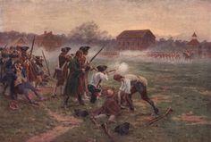 Battle Road Lexington | The Battles of Lexington and Concord 1775