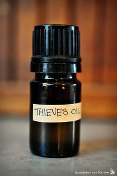 Recipe  for Thieves Oil