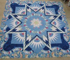 Glacier Star, Quiltworx.com, Made by
