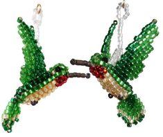 Free+Bead+Patterns   Beaded Feather Earrings - Sova-Enterprises.com