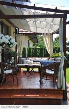 # backyard 28 creative ways to cover your patio 0 ., 28 creative ways to cover your patio 00028 When age-old in notion, the particular pergola have been encountering somewhat of a modern day rebirth these days. Outdoor Pergola, Pergola Plans, Outdoor Rooms, Outdoor Living, Cheap Pergola, Pergola Lighting, Wooden Pergola, Diy Pergola, Outdoor Decor