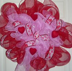 Sweet Valentine's Day Wreath order yours for $25.00