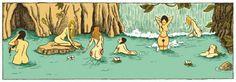 """Zanzim (rys.): """"Wyspa kobiet"""""""