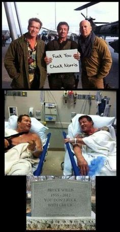 Fk You Chuck Norris - Terminator Funny - Fk You Chuck Norris Terminator Funny Terminator Funny Meme Fk You Chuck Norris The post Fk You Chuck Norris appeared first on Gag Dad. The post Fk You Chuck Norris appeared first on Gag Dad. The Expendables, Chuck Norris Memes, Funny Jokes, Hilarious, Memes Humor, All Meme, Medical Weight Loss, Military Humor, Bruce Willis