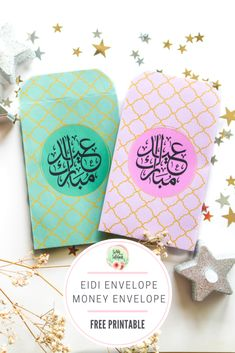 Celebrate the traditions of Eid with this easy and fun DIY project, Printable Eid Money Envelopes for your children and loved ones. Eid Envelopes, Eid Prayer, Islamic Motifs, Eid Greetings, Eid Special, Heart Diy, Envelope Design, A4 Paper, Gift Exchange