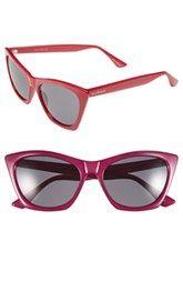 Isaac Mizrahi New York 55mm Cat Eye Sunglasses