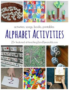 Literacy activities for preschoolers