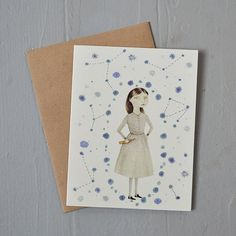 constellations notecard by Oh My Cavalier