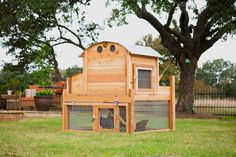 Round-Top Backyard Chicken Coop™  - the hubby could recreate this for much cheaper!