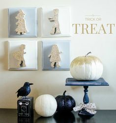 Trick Or Treaters Halloween Decor - The Wood Connection Blog