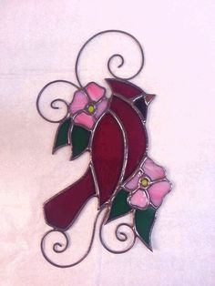 Cardinal made by Kickass Stained Glass