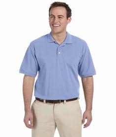 3 Pack Men/'s Polo Shirts DryBlend™ jersey knit polo Shirt Wholesale Job Lot New