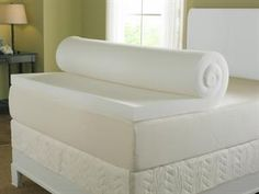 Best Memory Foam Topper well if i cant afford a full matress i would love one of these! #naturessleep