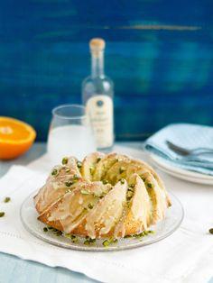 Gugelhupf_Ouzo-Pistazien-Olivenöl-Kuchen © Sandra Cetin | Hase im Glück