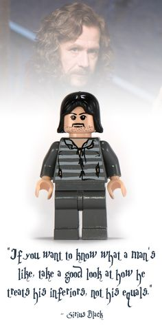 Sirius Black Lego Minifigure - Harry Potter Collectibles