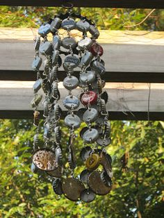 I am on a wind chime making frenzy! I just can't help myself. Something about found objects has been really inspiring to me lately. It all s...