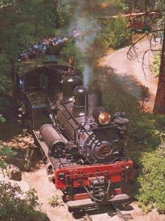 Image detail for -an exciting 4 mile railroad excursion at yosemite park s