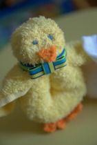 washcloth duck for boo boos
