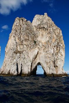 Rocks of Faraglioni, Island of Capri, Italy  Scott, lets go here...for about a month!!!