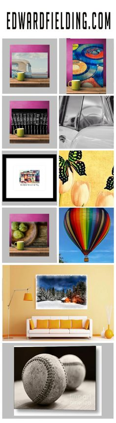 Fine art photography by Edward M. Fielding - prints, framed art, totes, metal prints and more!