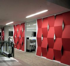 Energex EchoPanel® Wall Covering EchoPanel® 12mm 258 Red