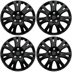 25 best car truck parts wheels tires parts images motor Truck Canopy Camping 4 pc set of 16 matte black hub caps for oem steel wheel cover center