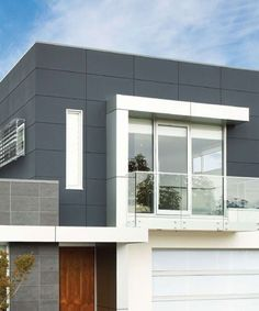 Square Panelled Cladding. Scyon for a modern architectural touch